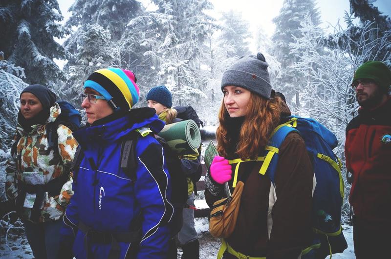 Pierwszy wyjazd kursowy - Turbacz - Fot.Kasia Górecka