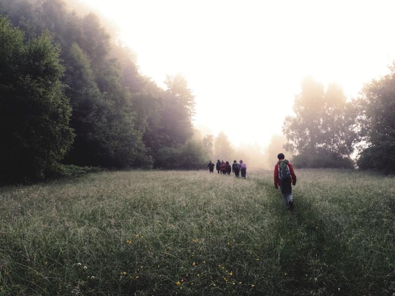 Marsz odwschodu dozachodu Słońca - Bartne