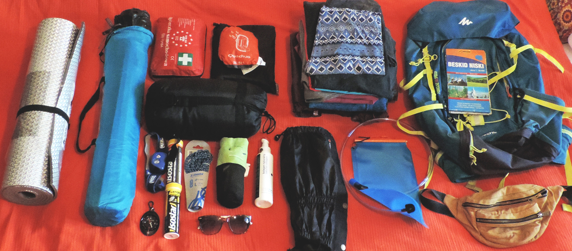 Poradnik: Jak spakować plecak natygodniowy wyjazd wgóry?