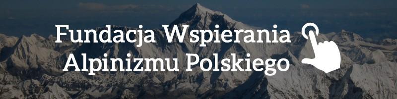1% podatku - Fundacja Wspierania Alpinizmu Polskiego